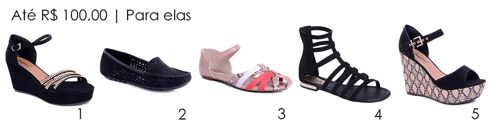 sapatos elas 100