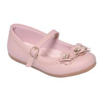 Sapato Flores Lily Kids - Bege 18-103-138