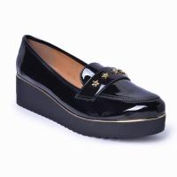 Slipper Flatform Lady Choice - Verniz Preto 4009-08 Vz Preto