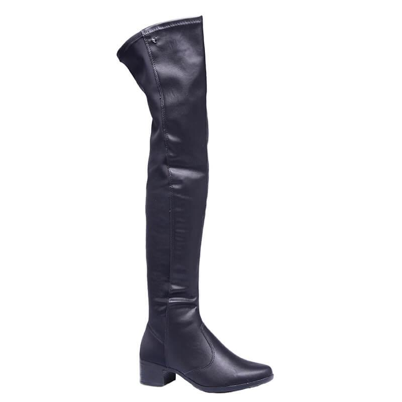 Bota Over The Knee Mississipi - Preto Q0471-0001