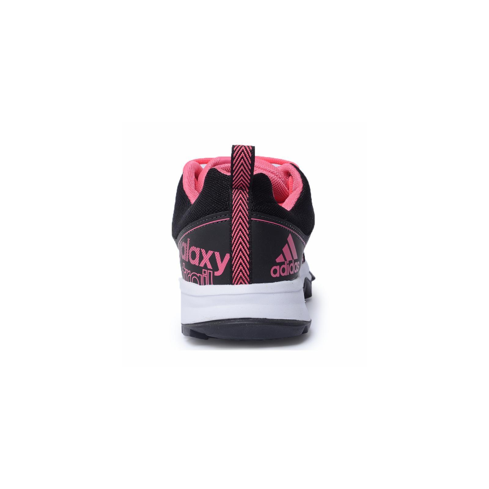 Tênis Adidas Galaxy Trail W Preto Pink BA8341   Omar Calçados